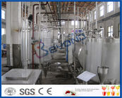 Full Automatic Milk Production Plant , Milk Processing Industry Dairy Plant Equipment