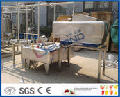 Milk Pasteurization Dairy Processing Equipment For Milk Processing Plant ISO9001 / CE / SGS