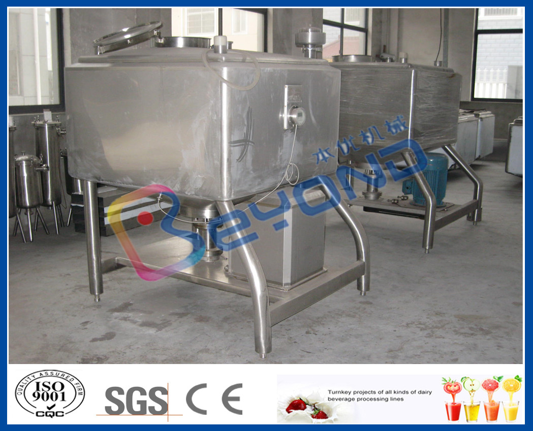 Miller Type Stainless Steel Tanks ,  High Speed Emulsification Industrial Mixing Tanks