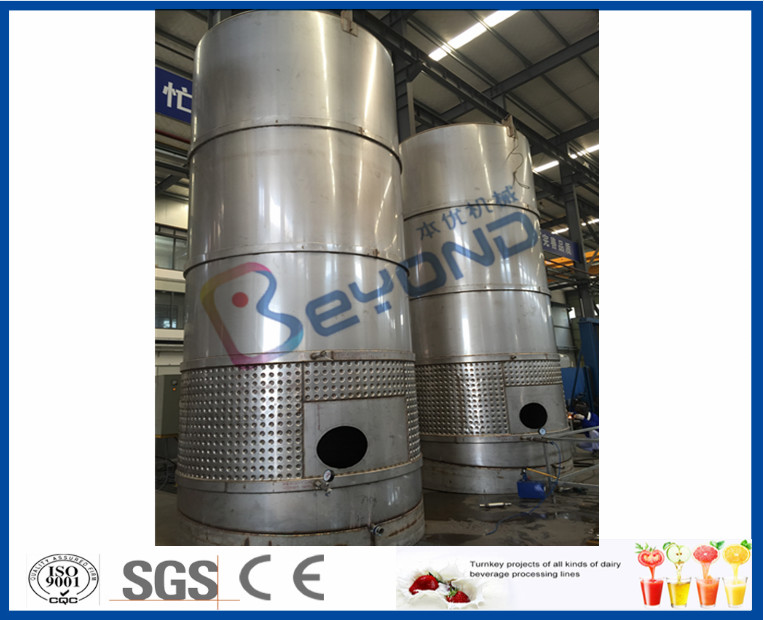 Smart Integrated Industrial Yogurt Making Machine For Dairy Production Line