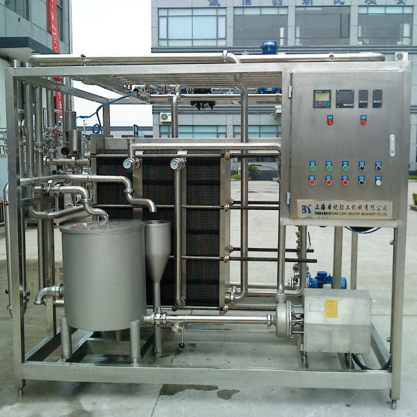 220V / 380V 1000LPH Milk Pasteurization Machine 6KW With High Performance